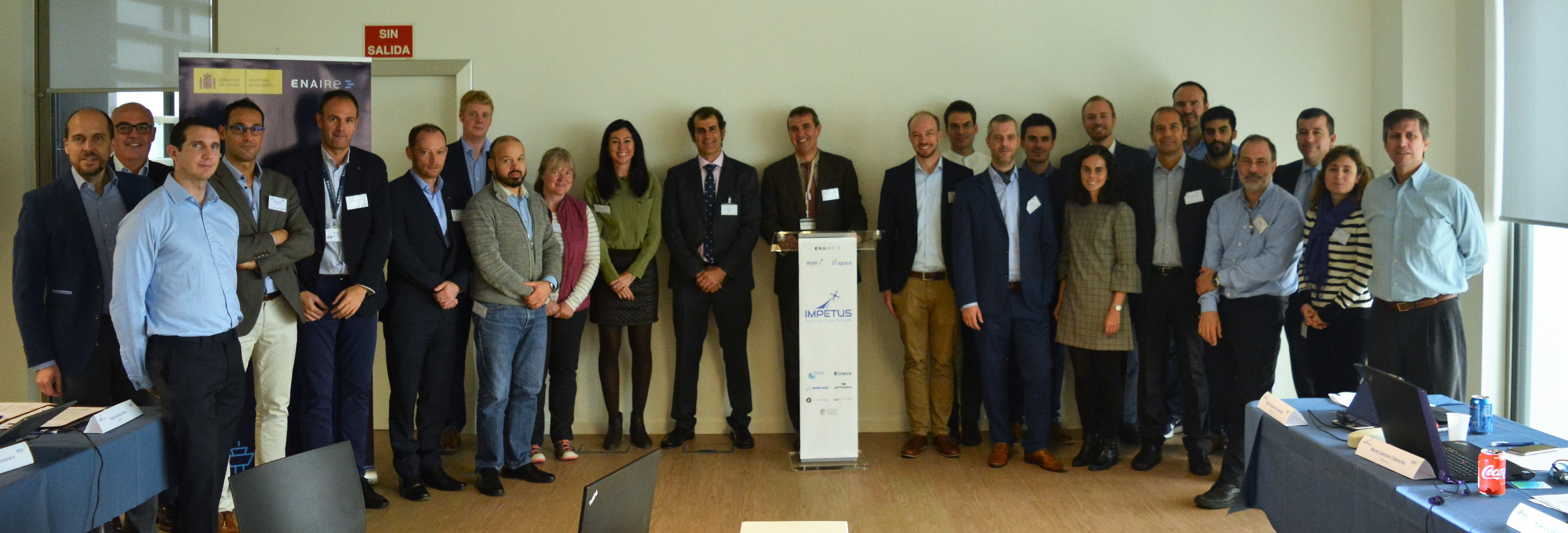 First IMPETUS workshop u-space drones information services advisory board sesar